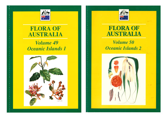 Flora of Australia, volumes 49 and 50. Oceanic islands [part one and two].