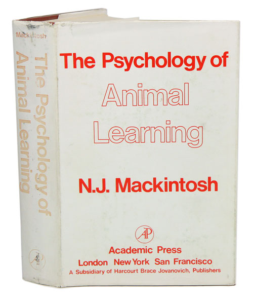 The psychology of animal learning. N. J. Mackintosh.