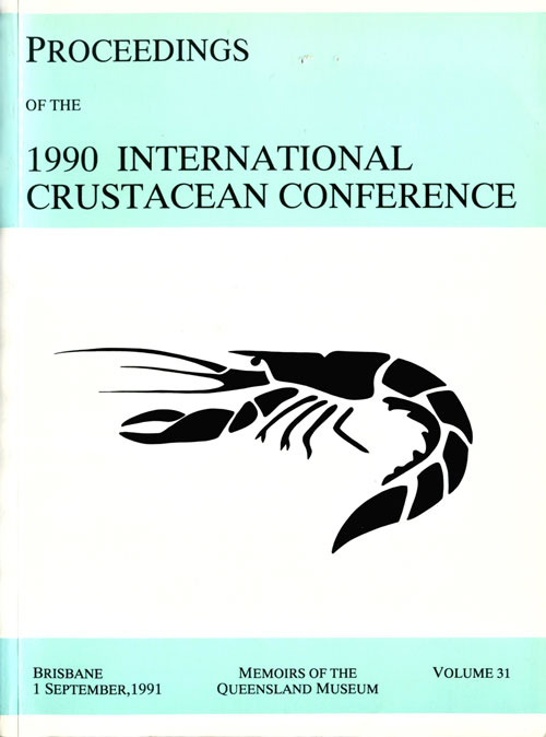Proceedings of the 1990 International Crustacean conference. P. J. F. Davie, R. H. Quinn.