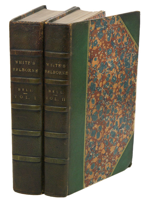 The natural history and antiquities of Selborne, in the county of Southampton. By the late Rev. Gilbert White. Thomas Bell.