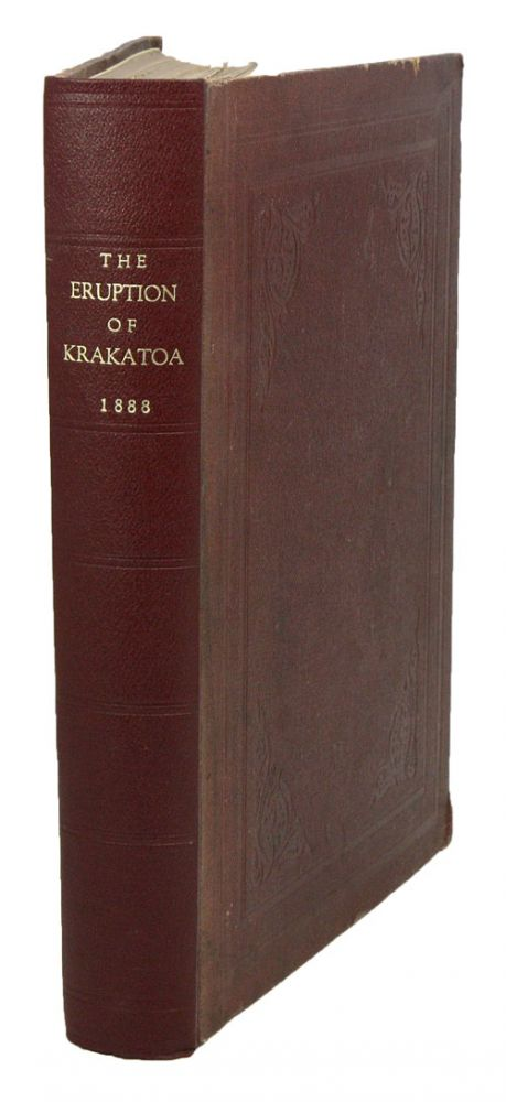 The eruption of Krakatoa. and subsequent phenomina. Report of the Krakatoa Committe of the Royal Society. G. J. Symons.