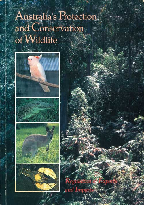Australia's protection and conservation of wildlife. John F. Ley.