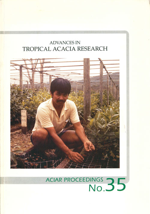 Advances in tropical acacia research. John W. Turnbull.