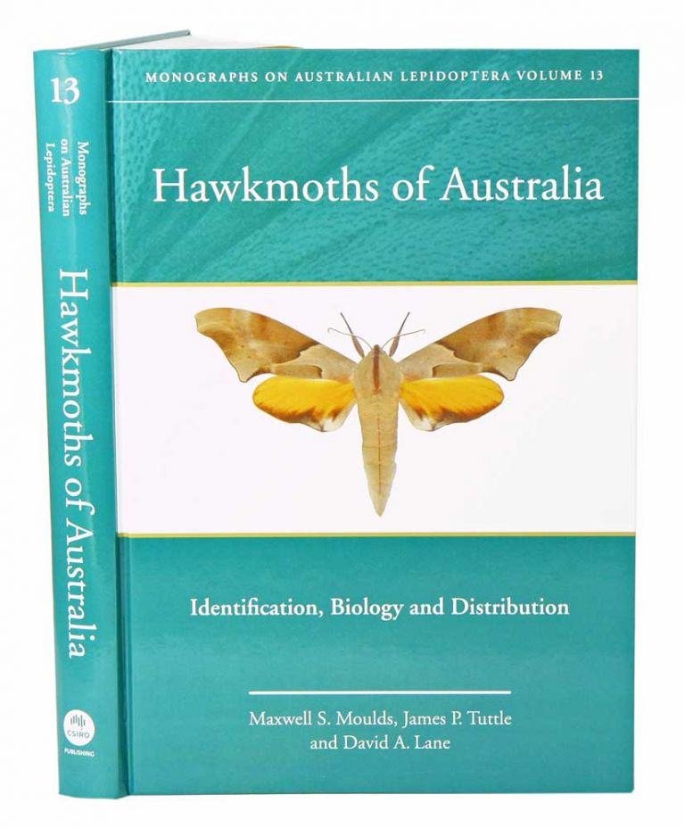 Hawkmoths of Australia: identification, biology and distribution. Maxwell Moulds, James Tuttle, David Lane.