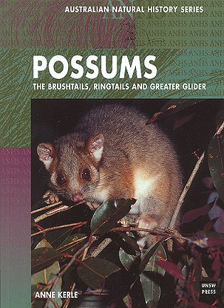 Possums: brushtails, ringtails and the greater glider. Anne Kerle.