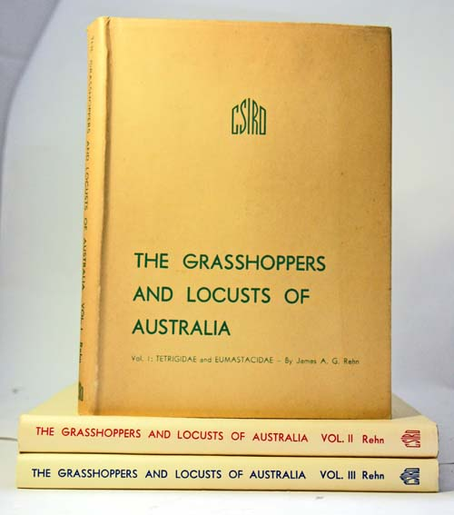 The grasshoppers and locusts of Australia. James A. G. Rehn.