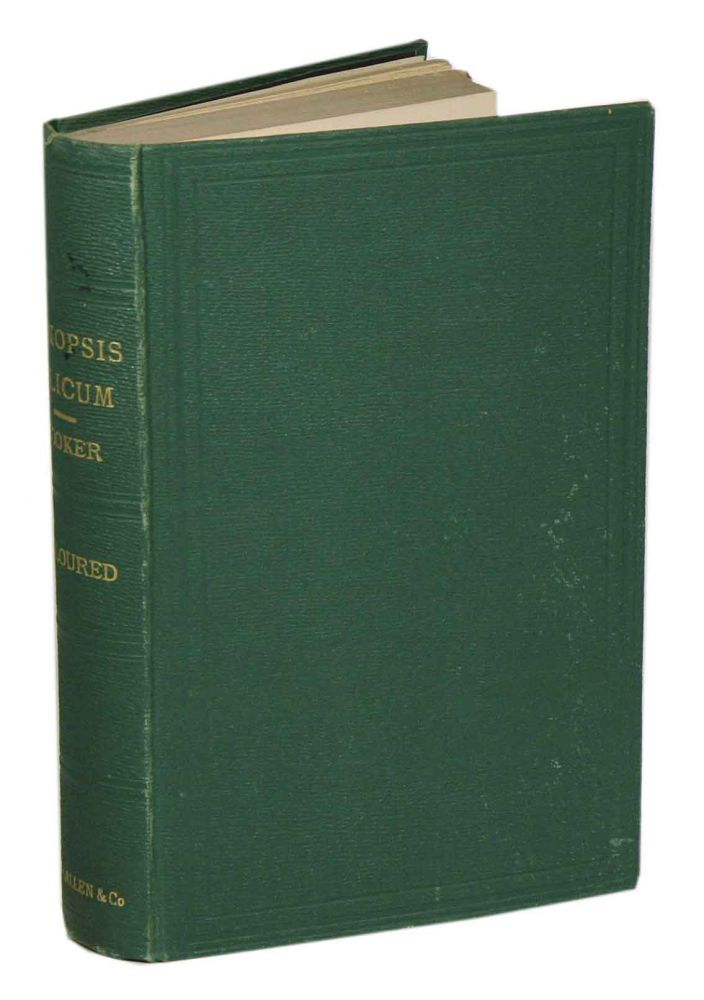 Synopsis filicum: or, a synopsis of known ferns. including the Osmundaceae, Schizeaceae, Marattiaceae and Ophioglossaceae. William Jackson Hooker, John Gilbert Baker.