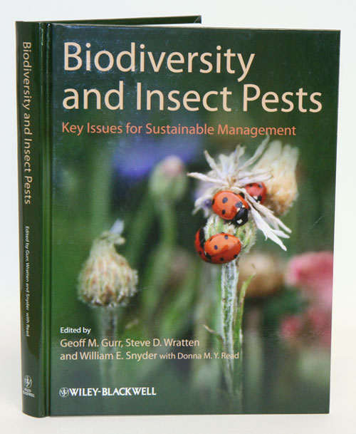 Biodiversity and insect pests: key issues for sustainable management. Geoff M. Gurr.
