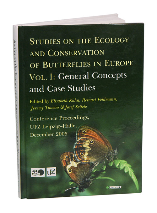 Studies on the ecology and conservation of butterflies in Europe. Elisabeth Kuhn.
