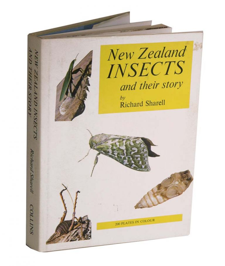 New Zealand insects and their story. Richard Sharell.