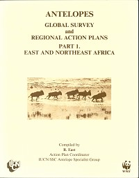 Antelopes: Global Survey and Regional Action Plans, part one: east and northeast Africa. R. East.