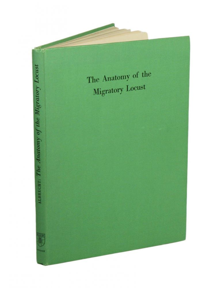 The anatomy of the migratory locust. F. O. Albrecht.