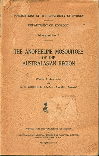 The anopheline mosquitoes of the Australasian region. David J. Lee.