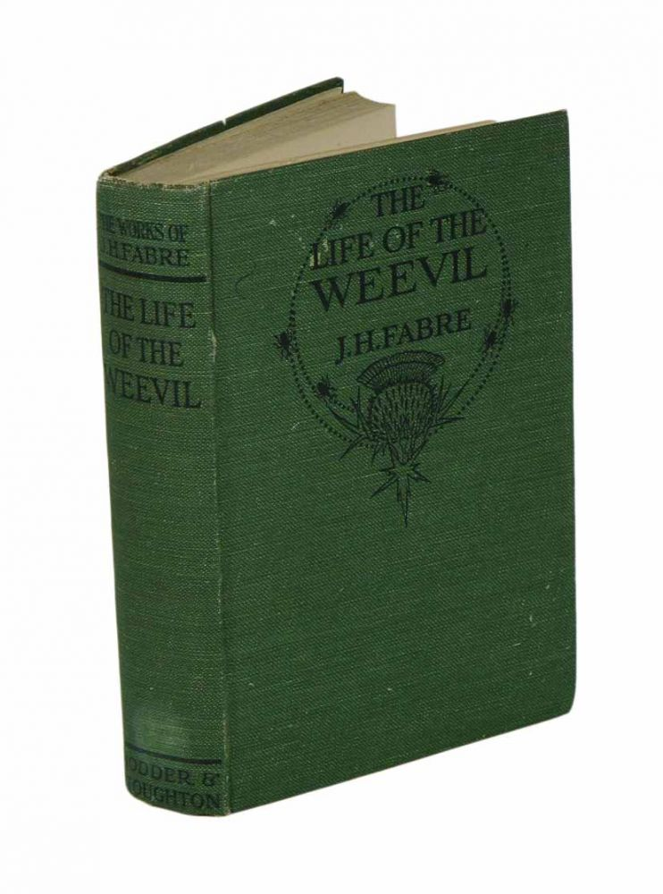 The life of the weevil. J. Henri Fabre.