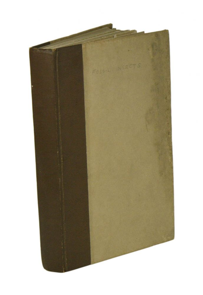 A collection of papers, on North American insects. F. M. Carpenter.