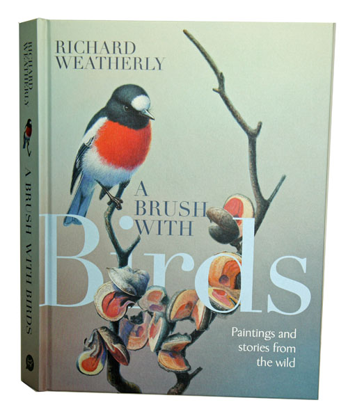 A brush with birds: paintings and stories from the wild. Richard Weatherly.