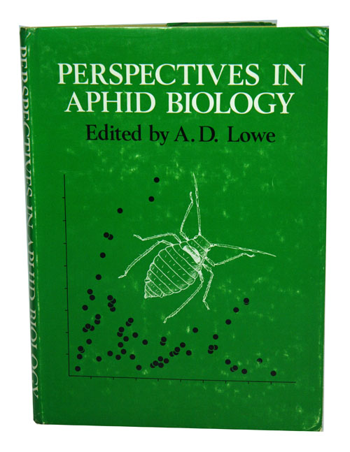 Perspectives in aphid biology. A. D. Lowe.