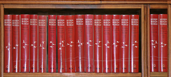 Handbook of the birds of the world [HBW], seventeen volumes. Josep del Hoyo.