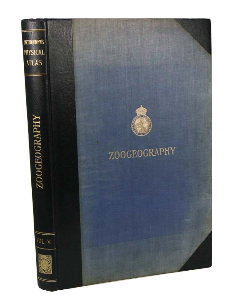 Atlas of zoogeography: a series of maps illustrating the distribution of seven hundred families, genera, and species of exisiting animals. J. G. Bartholomew.