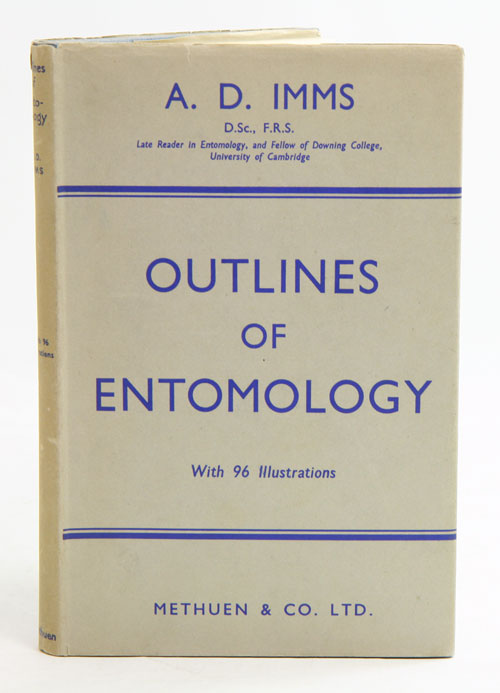 Outlines of entymology. A. D. Imms.