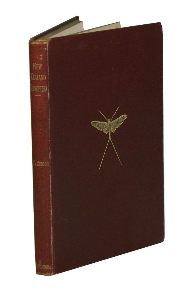 New Zealand Neuroptera: a popular introduction to the life-histories and habits of may-flies, dragon-flies, caddis-flies and allied insects inhabiting New Zealand, including notes on their relation to angling. G. V. Hudson.