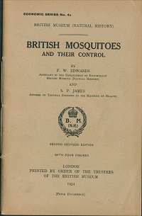 British mosquitoes and their control. F. W. Edwards, S. P. James.