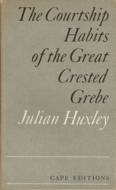 The courtship habits of the Great Crested Grebe. Julian Huxley.