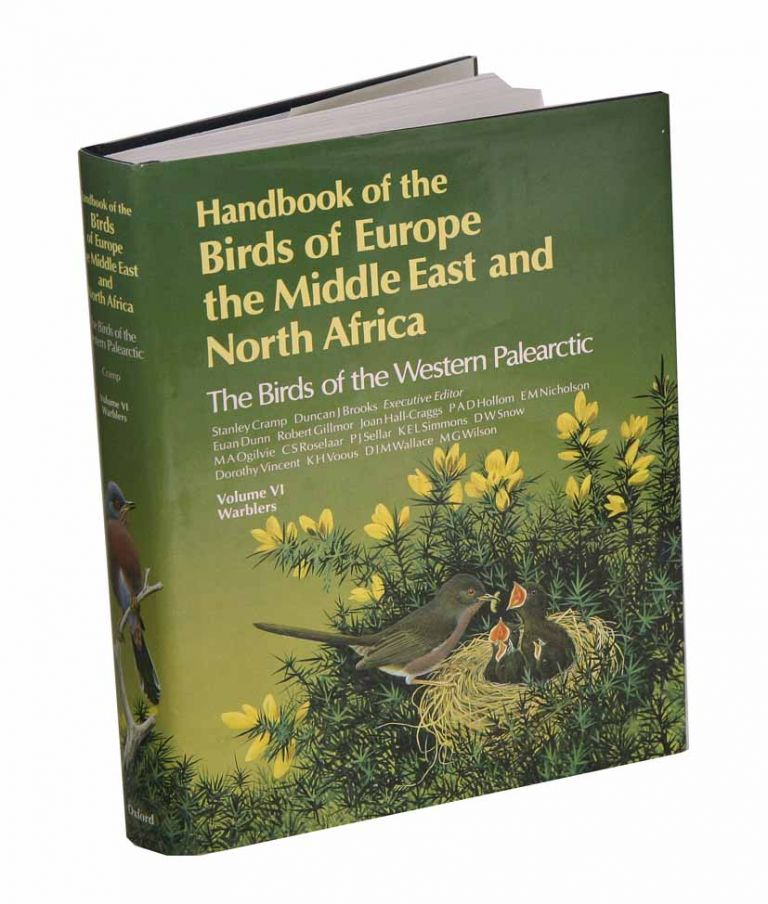 Handbook of the birds of Europe, the Middle East and North Africa. The birds of the Western Palearctic [BWP], volume six: Warblers. Stanley Cramp.