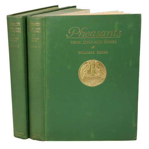 Pheasants: their lives and homes. William Beebe.