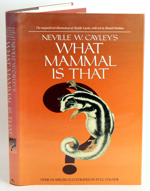 What mammal is that? Ronald Strahan.