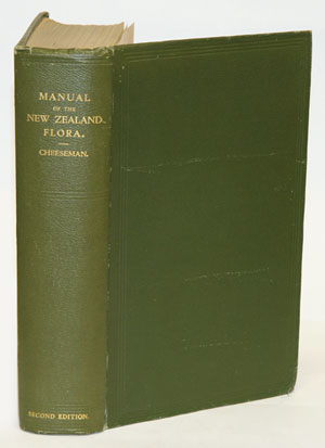 Manual of the New Zealand flora. T. F. Cheeseman.