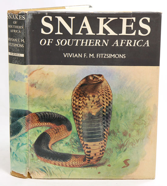 Snakes of southern Africa. Vivian F. M. FitzSimons.