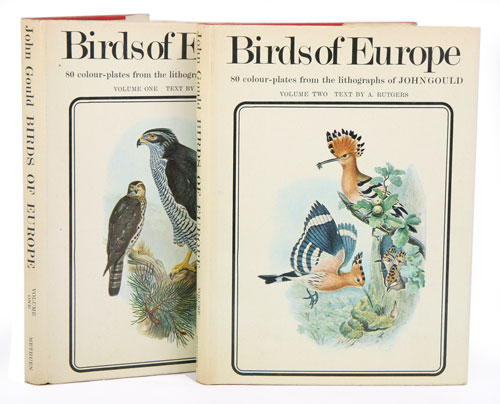 Birds of Europe: illustrations by John Gould. A. Rutgers.