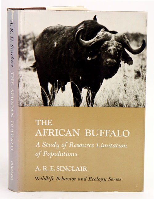 The African buffalo: a study of resource limitation of populations. A. R. E. Sinclair.