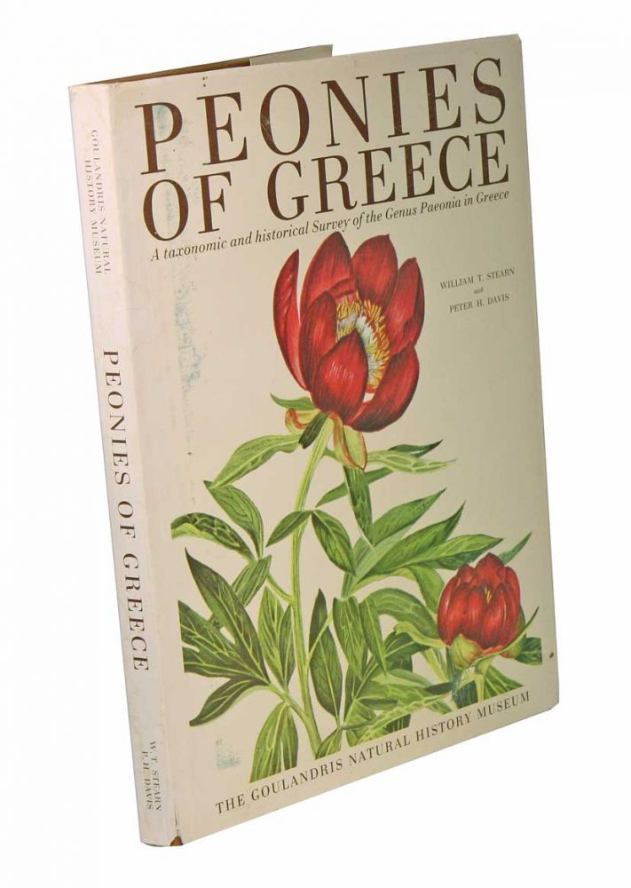 Peonies of Greece: a taxonomic and historical survey of the genus Paeonia in Greece. William T. Stearn, Peter H. Davis.