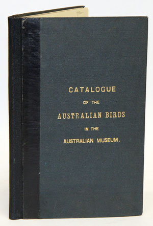 Catalogue of the Australian Accipitres or diurnal birds of prey inhabiting Australia, in the collection of the Australian Museum at Sydney, N.S.W. E. Pierson Ramsay.