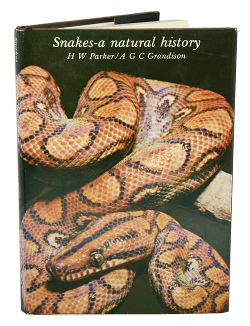 Snakes: a natural history. H. W. Parker.