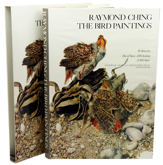 Raymond Ching: the bird paintings. Watercolours and pencil drawings 1969-1975. David Snow, A. H., Chisholm, M. F. Soper.