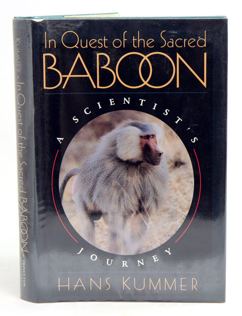 In quest of the sacred baboon: a scientist's journey. Hans Kummer.