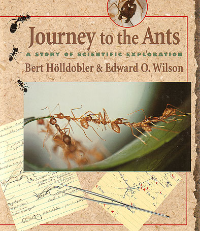 Journey to the ants: a story of scientific exploration. Bert Holldobler, Edward O. Wilson.