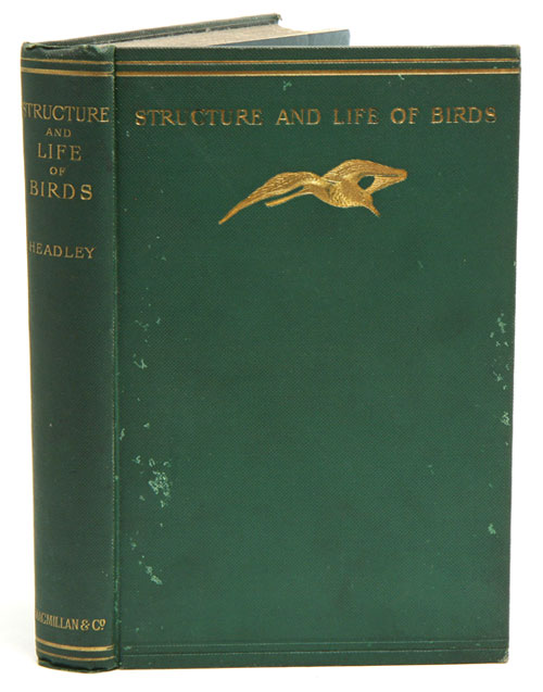 The structure and life of birds. F. W. Headley.