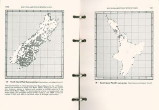 The atlas of bird distribution in New Zealand.