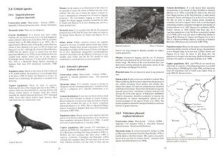 Pheasants: Status Survey and Conservation Action Plan 1995-1999.