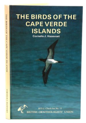The birds of the Cape Verde Islands: an annotated checklist. C. J. Hazevoet