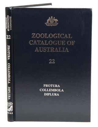 Zoological Catalogue of Australia, volume 22. Protura, Collembola, Diplura. W. W. K. Houston