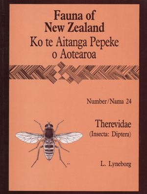 Fauna of New Zealand Number 24: Therevidae (Insecta: Diptera