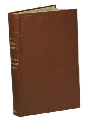 Curtis's Botanical Magazine dedications 1827-1927: portraits and biographical notes. Ernest...