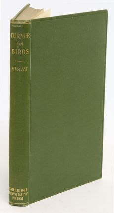 Turner on birds: a short and succinct history of the principal birds noticed by Pliny and...