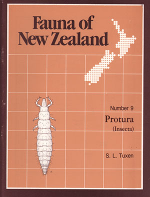 Fauna of New Zealand Number 9: Protura (Insecta). S. L. Tuxen
