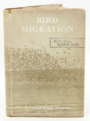 Bird migration: a short account. A. Landsborough Thomson.